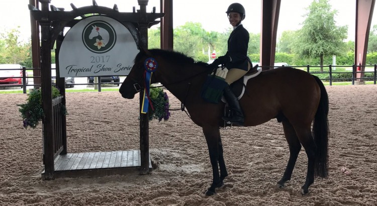 Mila Sands Champion Pony Equitation