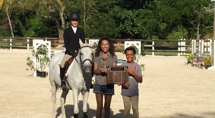 High point riders Katie G and Nicholas A. CEC November 2017