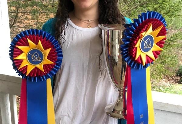 Reine Pagliaro - 2019 North American Endurance Champion